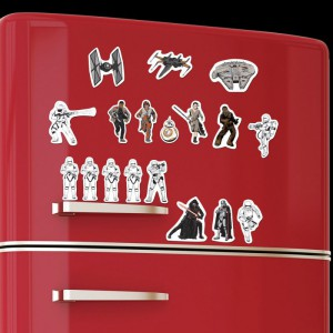 Magnets Star Wars EP7