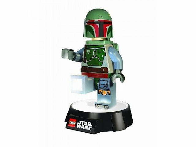 lampe de bureau lego star wars boba fett. Black Bedroom Furniture Sets. Home Design Ideas