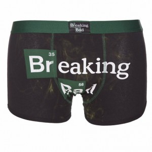 Caleçon Boxer Short Breaking Bad Logo