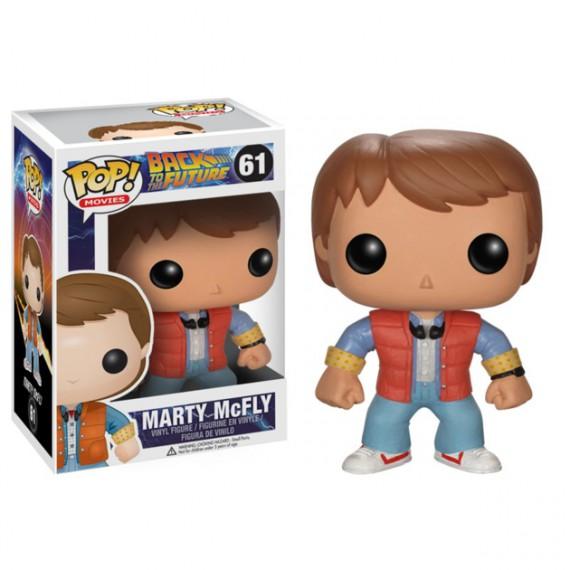 Figurine POP! Retour Vers le Futur Marty McFly