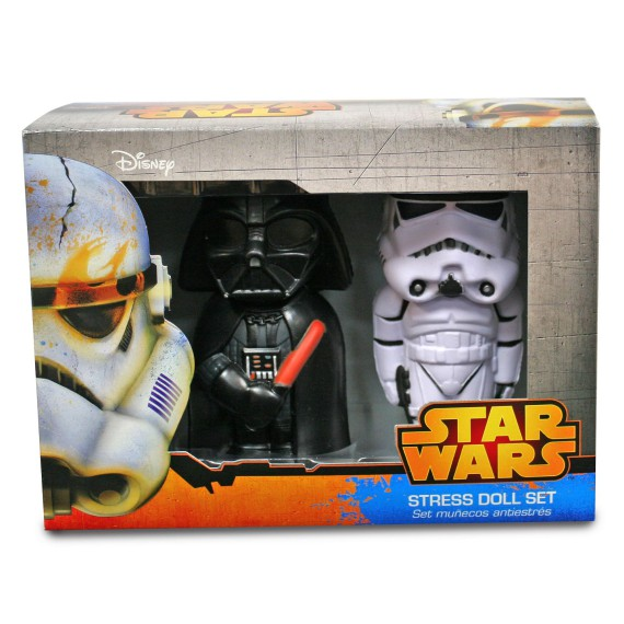 Pack de 2 Anti Stress Star Wars Dark Vador et Stromtrooper