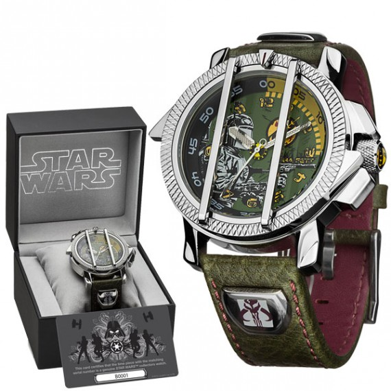 montre star wars collector deluxe boba fett. Black Bedroom Furniture Sets. Home Design Ideas