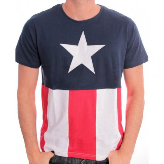 Tshirt Captain America Costume