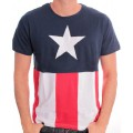 T-shirt Captain America Costume