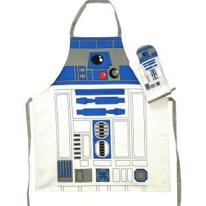 Set Tablier et Gant de cuisine Star Wars R2-D2