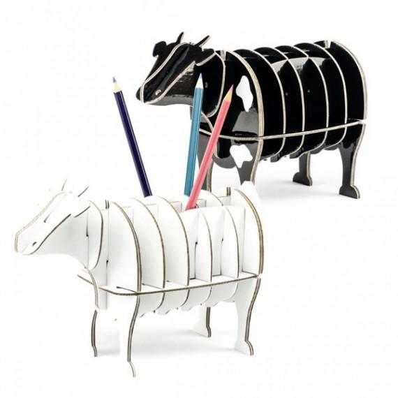 Petite Vache en Carton Mlle Marguerite
