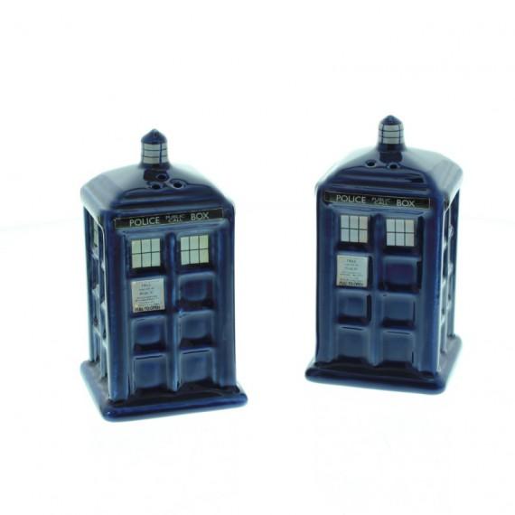 Sel et Poivre Tardis Doctor Who