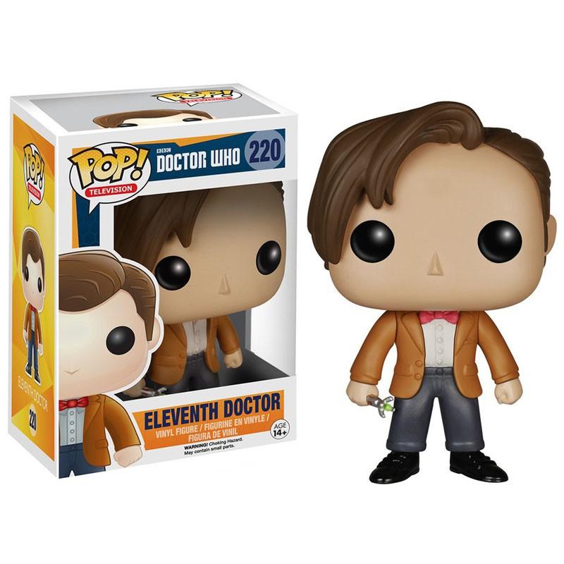 figurine pop doctor who 11th doctor