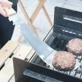Spatule barbecue machette