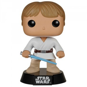 Figurine POP bobble head Star Wars Luke Skywalker Tatooine