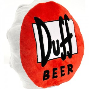 Coussin Capsule Simpsons Duff