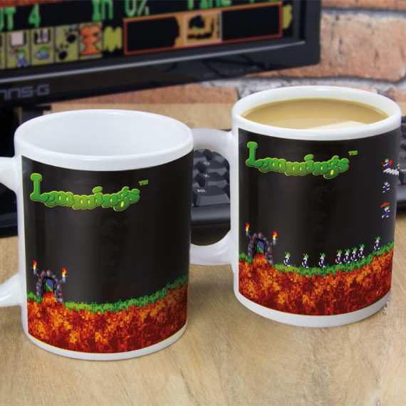 Mug Thermoréactif Lemmings