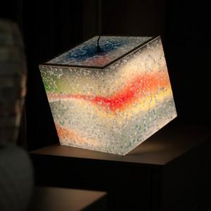 Lampe Cube Snowflake Uniqcube