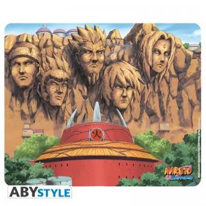 Tapis de souris Naruto, le mur des Hokage