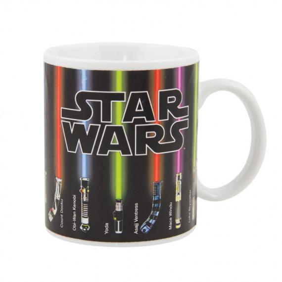 Mug Star Wars Thermoréactif Sabres Laser