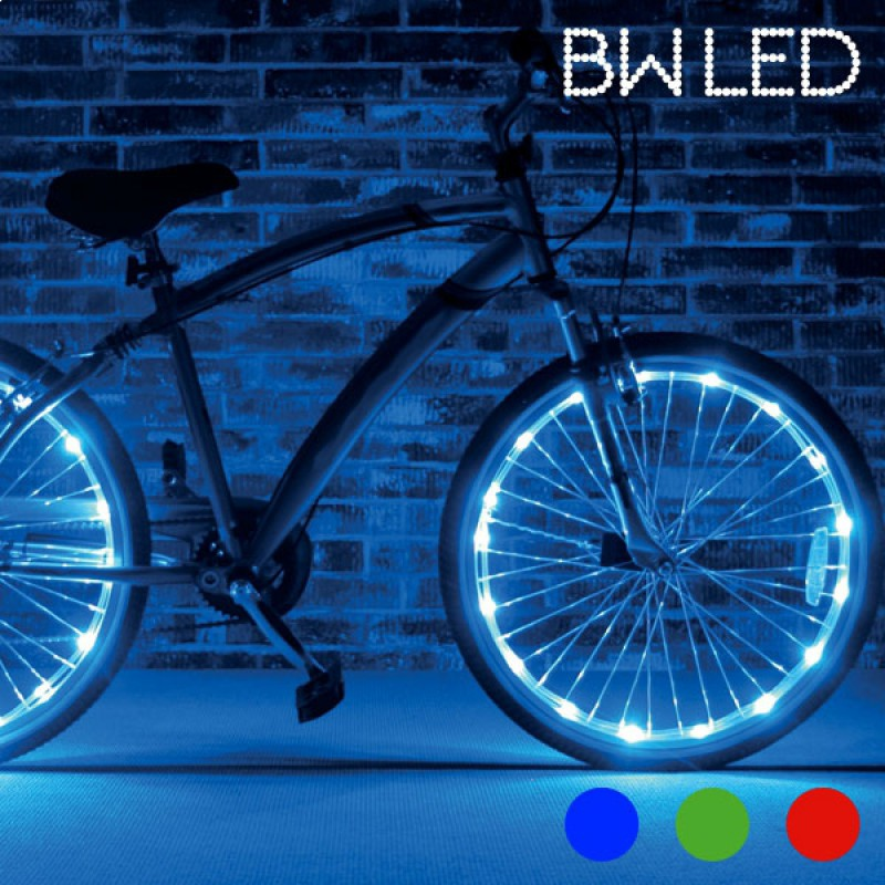 Tubes led pour v lo bicyclette lumineux rouge x2 commentseruiner - Verlicht bebe garcon originele ...