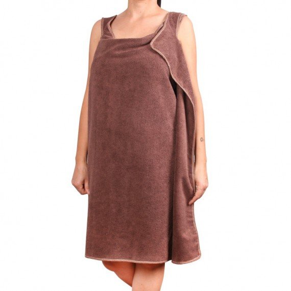 Serviette de bain robe enfilable