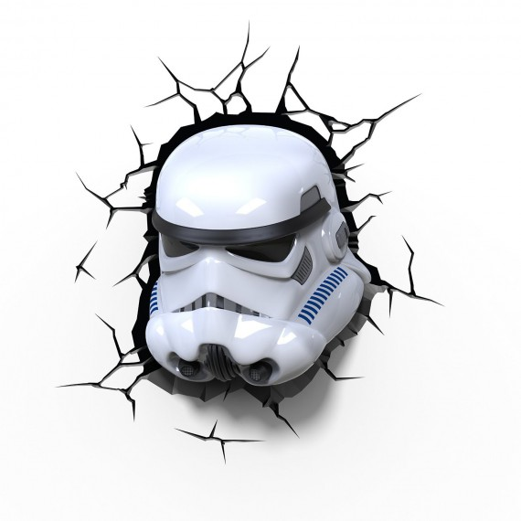 Applique murale 3D Deco light, Stormtrooper Star Wars