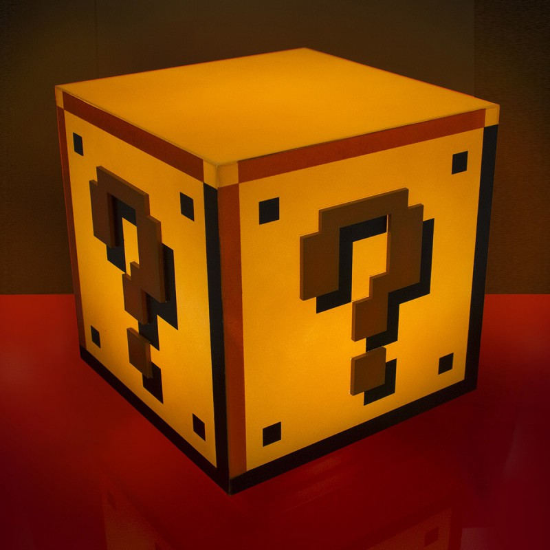 Lampe D Ambiance Super Mario Bros Question Block Commentseruiner