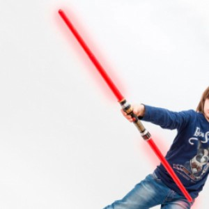 Sabre laser double Dark Maul Star Wars