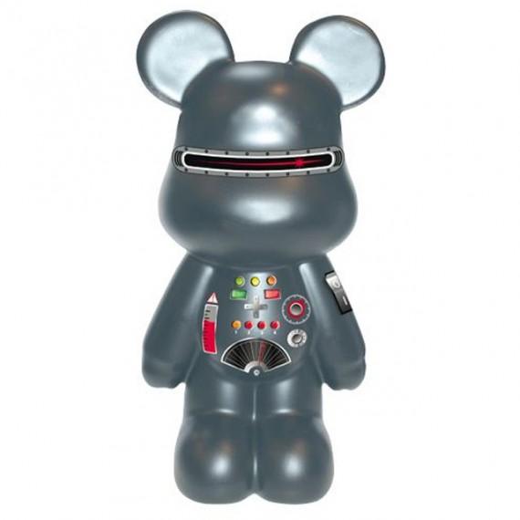 Statue Funky Bear Robot géant