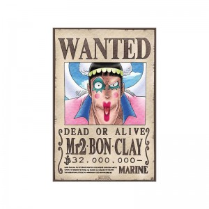 Poster Mr 2 Bon Clay One Piece
