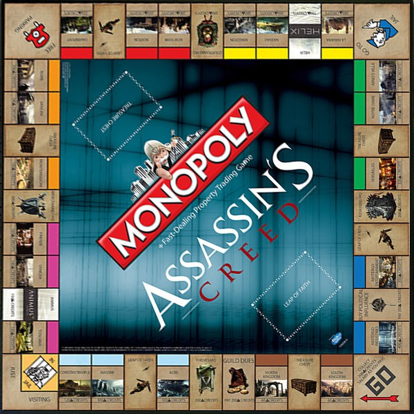 Monopoly Assassin's Creed | CommentSeRuiner