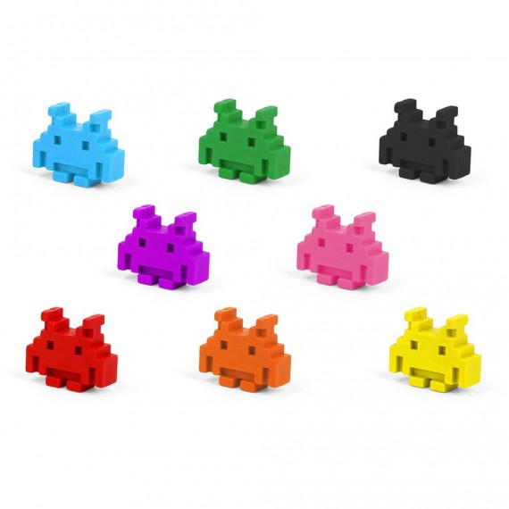 Crayons Space Invaders