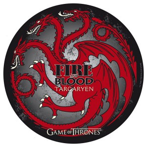 Tapis de souris Game of Thrones Targaryen