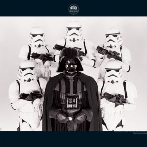 Poster Dark Vador Family Star Wars
