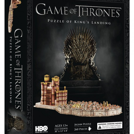 Puzzle King's landing Game of Thrones