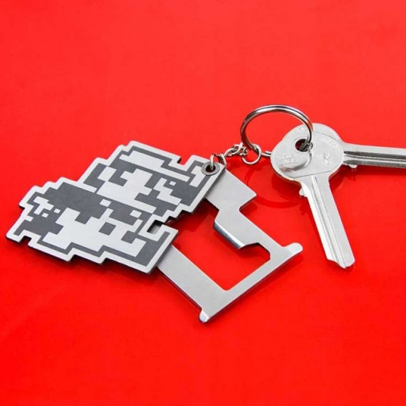 Porte-clés Multi-outils Super Mario Retro