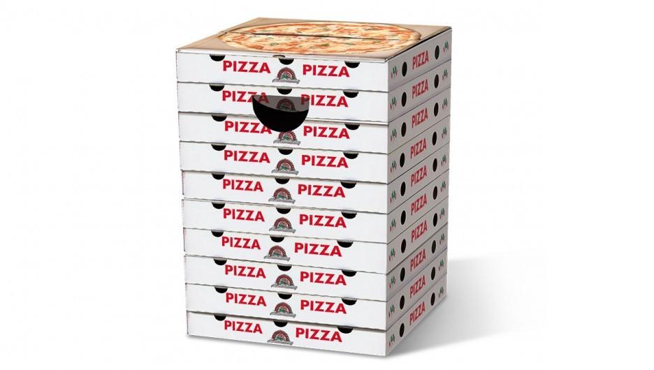f9cc734f008649 Tabouret Boîtes de pizzas en carton