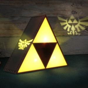 Lampe de chevet Triforce Zelda