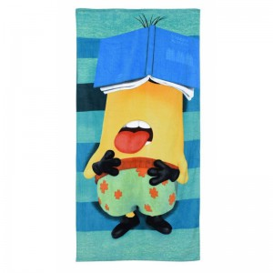 Serviette de plage Sleepy Minion