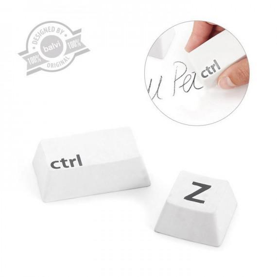 Gommes annuler CTRL + Z