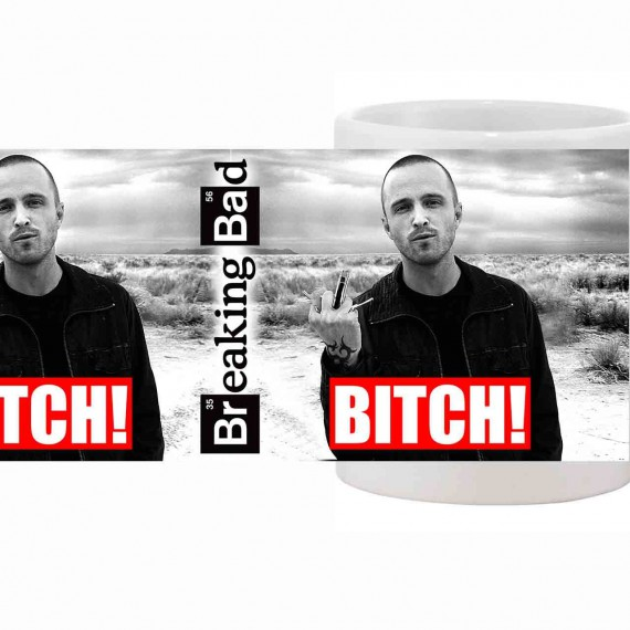 Mug Jesse Pinkman Bitch Breaking Bad