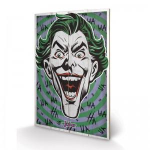 Panneau en Bois The Joker (Hahaha)