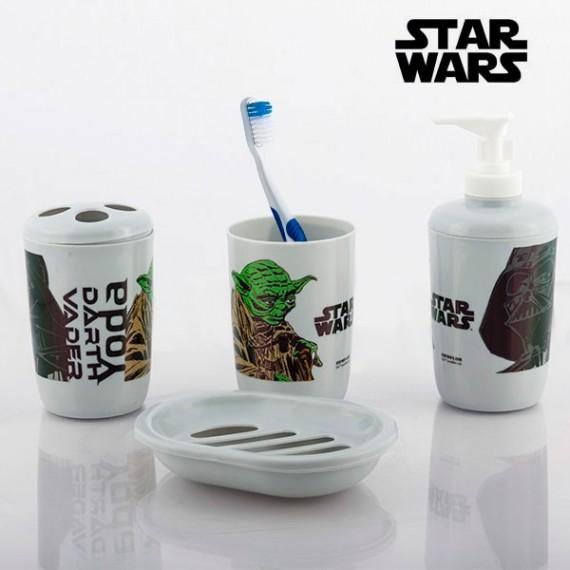 Accessoires de Salle de Bain Star Wars (4 pièces)