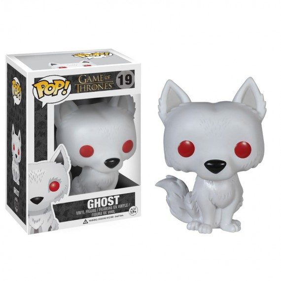 Figurine Pop! Game of Thrones Ghost Wirewolf 10 cm