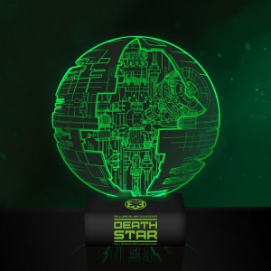 Lampe d'ambiance Illusion Etoile de la Mort Star Wars Rogue One