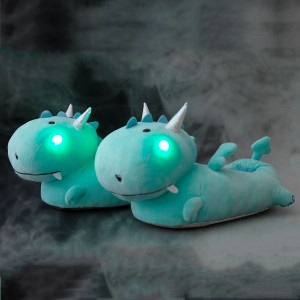 Chaussons dragons lumineux