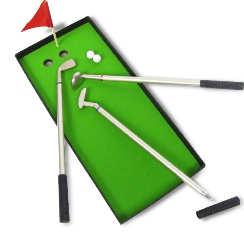 mini kit de golf avec club stylo commentseruiner. Black Bedroom Furniture Sets. Home Design Ideas