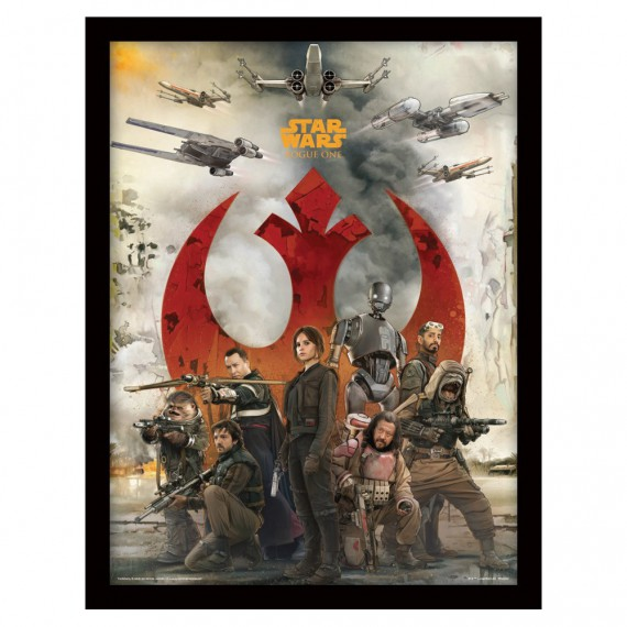 Cadre Star Wars Rogue One Rebels