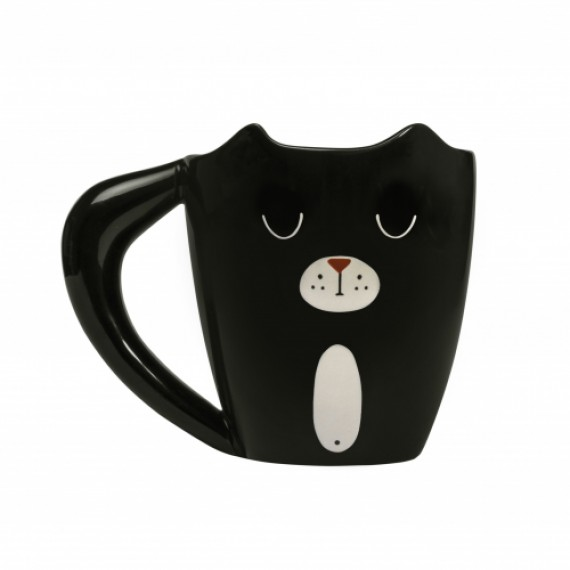 Mug Heat Change Ginger Cat