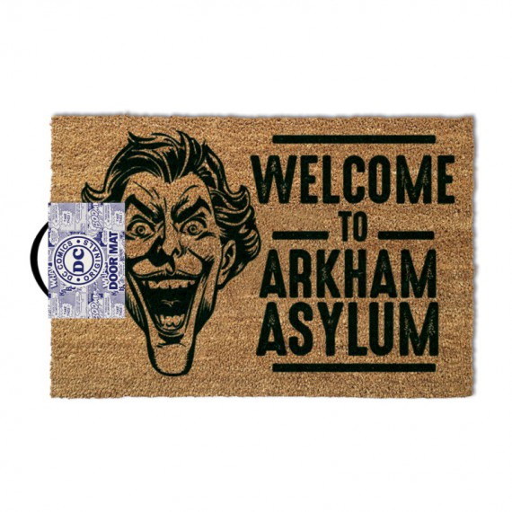 Paillasson The Joker Welcome to Arkham Asylum