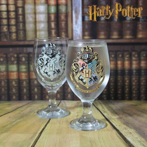 Verre à Pied Thermoréactif Harry Potter Poudlard