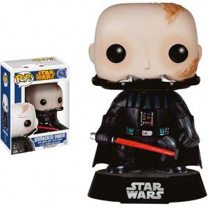 Figurine Pop! Star Wars Dark Vador (Unmasked)