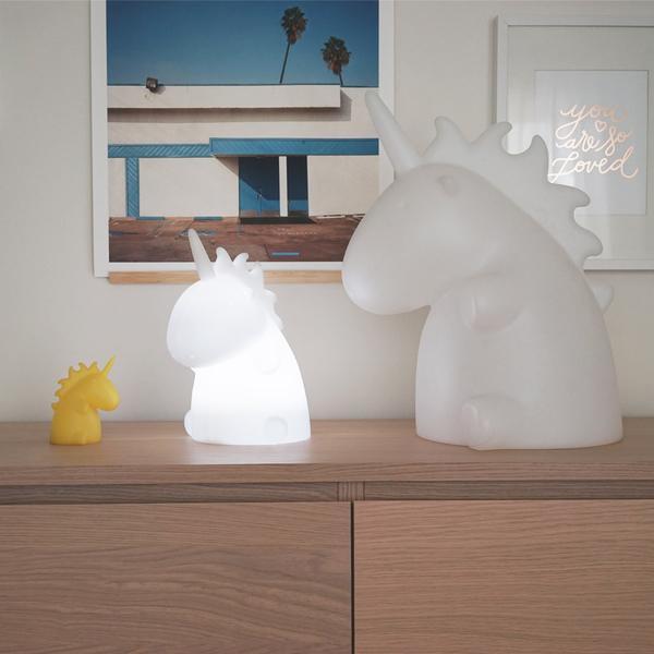 lampe veilleuse licorne junior. Black Bedroom Furniture Sets. Home Design Ideas