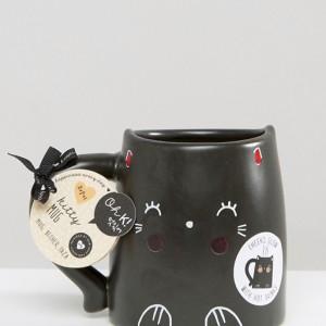 Mug chat noir Oh K !